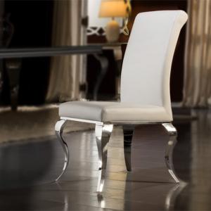 καρέκλα baroc λευκή