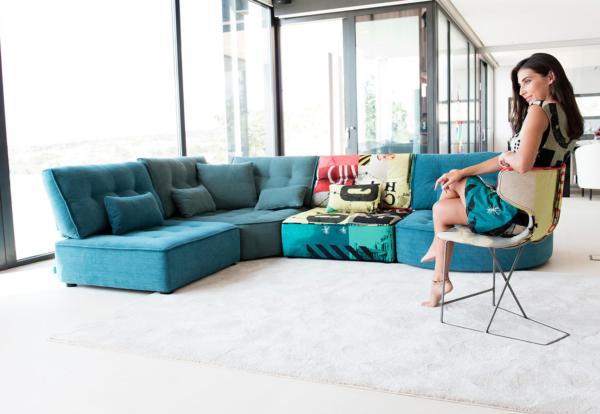 καναπές σε κομμάτια πολυμορφικός