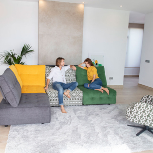 πολυμορφικός καναπές με relax
