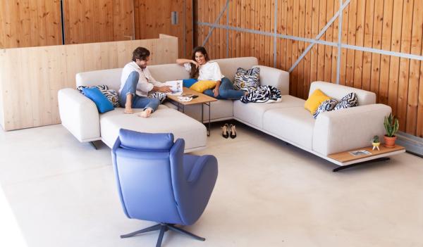 γωνιακός καναπές πολυμορφικός
