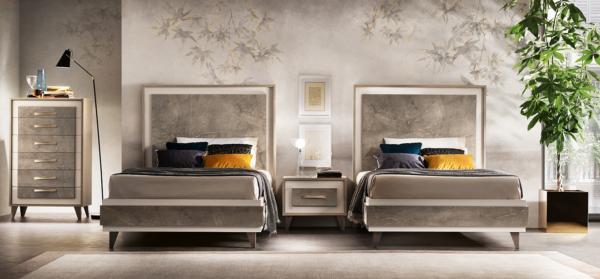 κρεβάτια μονά με φινίρισμα μαρμάρου ιταλικά