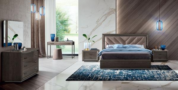 κρεβάτι με ύφασμα ιταλικό
